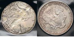 EE.UU.  USA  OUNCE DOLLAR 1997 PLATA SILVER..B17 - EDICIONES FEDERALES