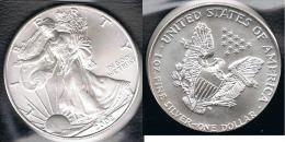 EE.UU.  USA  OUNCE DOLLAR 2002 PLATA SILVER..B11 - EDICIONES FEDERALES