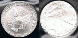 EE.UU.  USA  OUNCE DOLLAR 2004 PLATA SILVER..B10 - EDICIONES FEDERALES