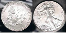 EE.UU.  USA  OUNCE DOLLAR 2008 PLATA SILVER..B15 - EDICIONES FEDERALES