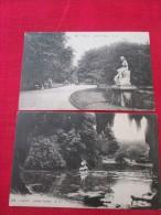 LILLE 2 Cartes Jardin Vauban Barque Timbrée - Lille