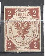 Luebeck: Yvert N°2 (*) - Luebeck