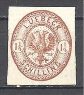 Luebeck: Yvert N°13 (*) - Luebeck