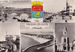 PALAVAS LES FLOTS MULTIVUES (dil195) - Palavas Les Flots