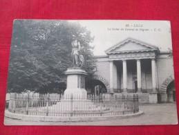 LILLE La Statue Du Général De Négrier Timbrée 1925 - Personnages