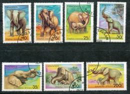 Tansania  -  Mi.Nr.     1014 - 1020   -   Gestempelt - Tansania (1964-...)