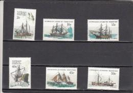 Territorio Antartico Australiano Nº 47 Al 52 - Unused Stamps