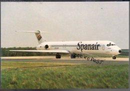 McDonnell Douglas MD-83 Spanair Airways Aircraft Airlines MD 83 Avio Aviation Aiplane MD 83 - 1946-....: Era Moderna