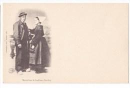 Maraichins De SOULLANS - Très Belle Carte -   Carte Précurseur. - Soullans