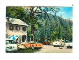 SESTOLA,lago Della Ninfa,Bar Ristorante CAPANNINA-1966-Auto-FIAT-CAR-ALFA-!!!!! - Modena