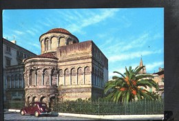 J2605 MESSINA - CHIESA Dei Catalani Con Auto D´epoca ( Church, Eglise, Car, Voitures ) 22262 Ed. CARISME - NICE TIMBRE - Messina