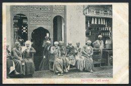 Egypt Egypte Cafe Arabe Schneller Postcard - Egypt