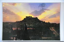 CP ATHENES (Grèce) - L'Acropole Au Coucher Du Soleil - Greece