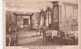 Germany Baden Baden Innenansicht Von Kasino Stephanie 1928