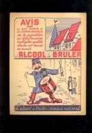 Protège Cahier : L' Alcool à Bruler Illustration CRIB - Hydrocarbures