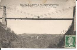 Cpa, Tramways Départementaux - Viaduc De Roche-Taillade (Corrèze) Sur La Luzège - Unclassified