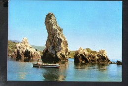 J2632 TAORMINA GIARDINI ( Messina ) I FARAGLIONI - SILVERCART - ANNULLO TAORMINA 1966 VERSO ROMA - Italia