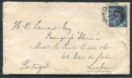 1901 GB QV Liverpool Allardice & Co. Cover - Passenger On Ship Iberia, Lisboa, Portugal