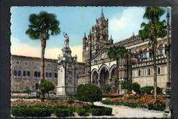 J2650 PALERMO, LA CATTEDRALE ( Church, Eglise ) N° 14 Ed. SAF - ANNULLO 1956 PALERMO - Palermo