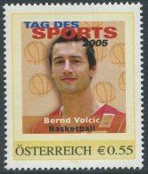 ÖSTERREICH / PM Tag Des Sports 2005 / Bernd Volcic - Basketball / Postfrisch / MNH /  **
