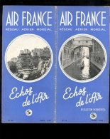 AIR FRANCE ECHOS DE L'AIR Bulletin N° 23 Avril 1949 Pâques à Rome - Reiseprospekte