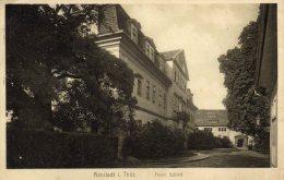 CPA   PHOTO ?  ALLEMAGNE----ARNSTADT---I.THUR---FURSTL. SCHLOSS---1914 - Arnstadt