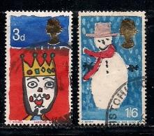 UK 1966 Used Stamp(s) Christmas Nrs. 442-443 - 1952-.... (Elizabeth II)