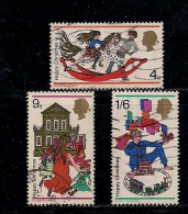 UK 1968 Used Stamp(s) Christmas Nrs. 493-495 - 1952-.... (Elizabeth II)