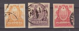 1921 - 4 Anniv. De La Revolution D Octobre  Mi No 162/164 Et Yv 150/152 Serie Complete - 1917-1923 Republic & Soviet Republic