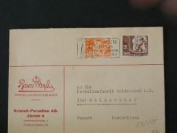 51/195   LETTRE SUISSE - Lettres & Documents