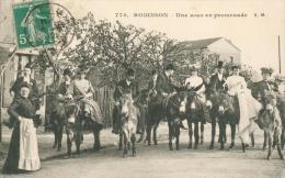 CPA - 92 -  Le-Plessis-Robinson  - Une Noce En Promenade - Noces