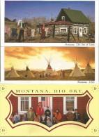 9 Cartes Postales Neuves Du Montana Big Sky  21 X 10,5 Cm - Etats-Unis
