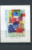 ITALY / ITALIEN / ITALIE 2014 -  Tourism, ENIT Manifesto,  Self-adhesive - 6. 1946-.. Republic