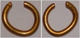 Celtic Gold Ring Money/hair Ring - Gauloises