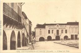 SAUVETERRE DE GUYENNE - 33 - L'Hotel De Ville - GG - - France