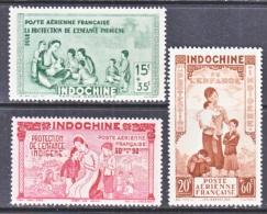 INDOCHINE  CB 2-4   **    VICHY - Indochina (1889-1945)