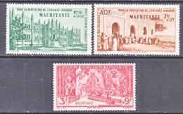 MAURITANIE  C B  1-3   **   VICHY - Mauritania (1906-1944)