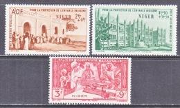 NIGER   CB 1-3   **   VICHY - Niger (1921-1944)