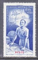 NIGER  CB  4  **   VICHY - Niger (1921-1944)