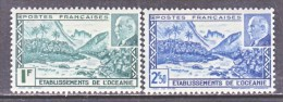 OCEANIA  125  A-B  *   VICHY - Oceania (1892-1958)