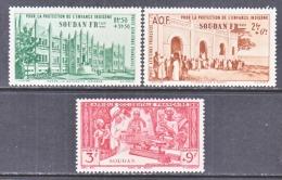 SOUDAN CB 1-3    **   VICHY - Sudan (1894-1902)