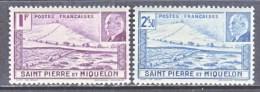 SAINT PIERRE Et MIQUELON  206  A-B   *   VICHY - St.Pierre & Miquelon