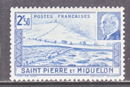 SAINT PIERRE Et MIQUELON  206  B   **  VICHY - St.Pierre & Miquelon