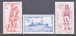 SAINT PIERRE Et MIQUELON  B 8 A-C   *  VICHY - St.Pierre & Miquelon
