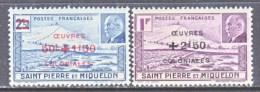 SAINT PIERRE Et MIQUELON  B 11-12   *  VICHY - St.Pierre & Miquelon