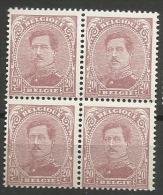 140C  Bloc 4  **  68 - 1915-1920 Alberto I
