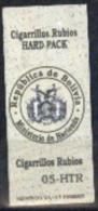 Bolivia 2005 Used. Impuesto A Cigarrillos Rubios. HARD PACK . See Desc. - Bolivie
