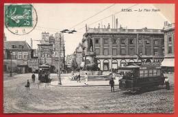CPA Reims - La Place Royale - Reims