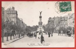 CPA Reims - Place Drouet D'Erlon - Maréchal De France - Reims