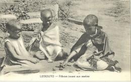 LESSOUTO.  Fillettes Jouant Aux Osselets. - Lesotho